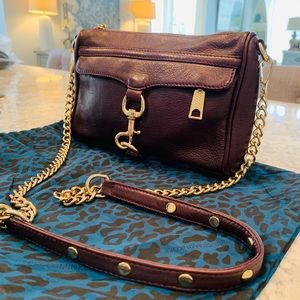 Rebecca Minkoff Crossbody Bag Purse & Dust Bag